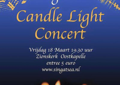18-03-2016 Oostkapelle Candle Light Concert